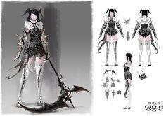Vindictus/Mabinogi Heroes Armor sets