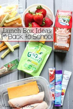 Mandy's Recipe Box: Lunch Box Ideas for Back to School