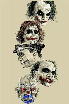 Batman Anniversary Tribute - PP :: Heath Ledger as Joker in 2008 - Art by Robert Bruno Le Joker Batman, Der Joker, Joker Heath, Joker Art, Joker And Harley Quinn, Heath Leadger, Gotham Joker, Joker Arkham, Joker Clown