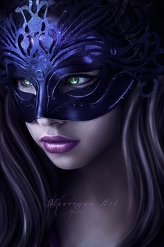 Behind the Mask by =MorriganArt on deviantART