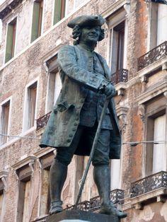 Carlo Goldoni - Campo San Bartolomeo  Playwright, The Servant of Two Masters