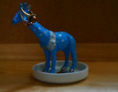 Animal ring dish Jewelry dish Giraffe Jewelry by FramezCraze