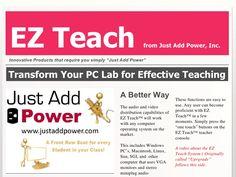 ez-teach-system-4278852 by SchoolVision Inc. via Slideshare