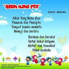 Allah Maha Esa versi 2 (original song Balonku) Islam For Kids, Muslim Quotes, Original Song, Kids Songs, Quran, Allah, Map, Proposals, Education