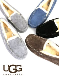 "UGG Australia(アグ オーストラリア) スウェード シープスキン モカシン スリッポンシューズ ""W ANSLEY""・3312 #UGGAustralia Winter Outfits, Summer Outfits, Casual Outfits, Ugg Shoes, Dress Shoes, Uggs For Cheap, Driving Shoes, Winter Snow Boots, Teen Fashion"