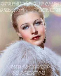 GINGER ROGERS FUR AND LIGHTS 8X10 BEAUTIFUL COLOR PHOTO BY CHIP SPRINGER. Please visit my Ebay Store at http://stores.ebay.com/x5dr/_i.html?rt=nc&LH_BIN=1 to see the current listings of your favorite Stars now in glorious color! Message me if you would like me to relist your favorites. Check out my New Youtube videos at https://www.youtube.com/channel/UCyX926rA5x4seARq5WC8_0w