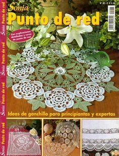basia - Barbara b - Picasa Web Albums Crochet Stitches Patterns, Doily Patterns, Crochet Chart, Filet Crochet, Crochet Designs, Irish Crochet, Knitting Books, Crochet Books, Crochet Home