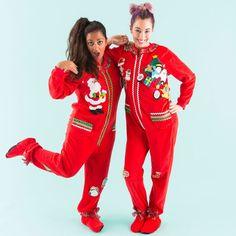 38e3ee19e Buddy The Elf Graphic Union Suit One-Piece Onesie Pajamas …