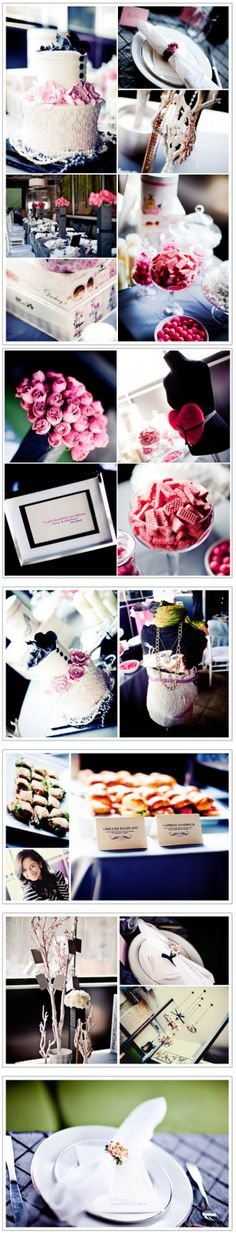 Coco Chanel Themed Baby Shower