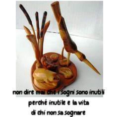 Composizione in legno di ulivo