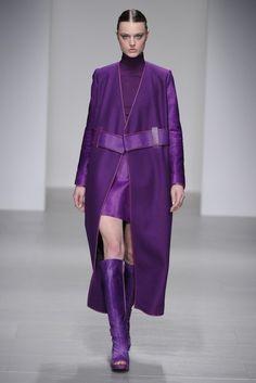 Wow! Love this color!!! David Coma F/W 2014