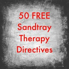 group Art therapy activities 50 Free Sandtray Therapy Directives from the Southern Sandtray Institute Play Therapy Activities, Therapy Games, Counseling Activities, Therapy Tools, School Counseling, Therapy Ideas, Speech Therapy, Health Activities, Kids Therapy