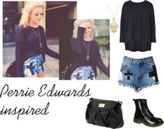 """Perrie Edwards Inspired #3"" by queenpeazer ❤ liked on Polyvore"