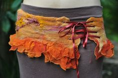 cool idea for a felted belt by Sarah-Maria in Australia