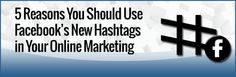 Great blog post at Kim Garst Boom Social - Social Selling Strategies That Actually Work :     You may or may not have heard by now about Facebook hashtags. Or maybe you have just seen more and more people using the hasht[..]