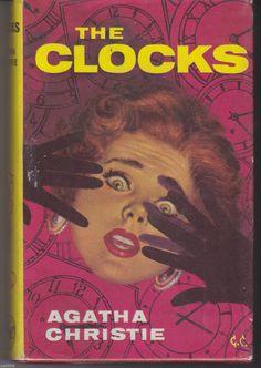 The Clocks Agatha Christie 1963 Uk Book Club 1st Edition Charing Cross Hb Crime