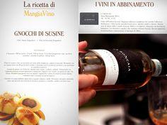 Thanks to #AisFvg for this great #pairing on #Mangiavino #magazine!  #LaRoncaia #Ramandolo #Wine #Recipe #Food #FoodAndWine #Gnocchi #Susine #Sweet #SweetWinbe #Passito #Verduzzo #MadeInItaly #Friuli #Excellence #Quality