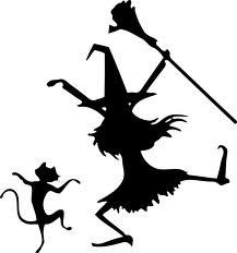 "DANCIN WITCH AND CAT ~ HALLOWEEN: WALL OR WINDOW DECAL, 12"" X 13"" Best Priced Decals: HALLOWEEN,http://www.amazon.com/dp/B00DSZ4ZQO/ref=cm_sw_r_pi_dp_c7Htsb0QCHA9KMM0"
