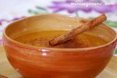 Crema de calabaza y canela http://www.mireiagimeno.com/recetas/crema-de-calabaza-y-canela