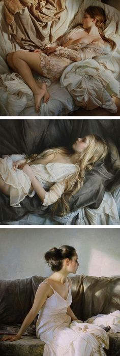 Hyperrealistic oil paintings by Serge Marshennikov // hyperrealistic art