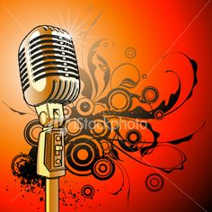 gold-vintage-microphone