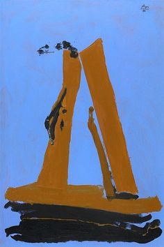 "Robert Motherwell - ""Summer Sea"" #art #abstract #expressionism"