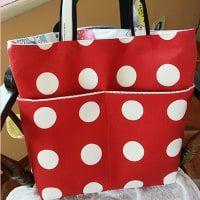 裏付きしっかりトートの作り方♪ - おはよう(*´∇`*) Diaper Bag, Bags, Handbags, Diaper Bags, Taschen, Purse, Purses, Totes