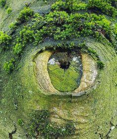 Ojo de la madre Tierra.