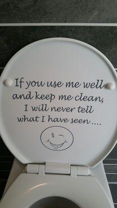 Bij ons op de wc bril.