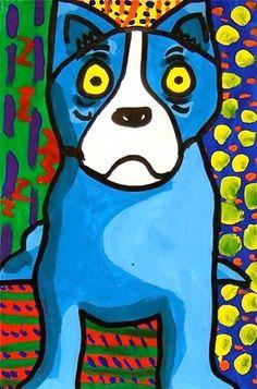Artsonia Art Museum :: blue dog