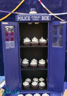 Doctor Who Birthday Party: Part 2, Desserts and Treats | Tikkido.com