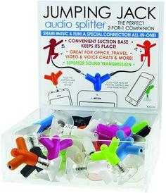jumping jack audio splitter Case of 48