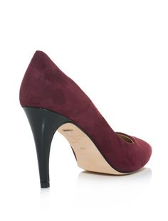 Diane Von Furstenberg Shoes | Diane Von Furstenberg Anette Shoes in Purple (burgundy) - Lyst