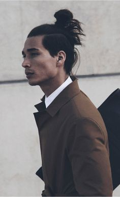 ::: Samuji Men SS15 hair Style coat men