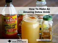 How To Make An Amazing Detox Drink that will help your body burn fat, lose weight, fight diabetes. - Ingredients 1 glass of water (12-16 oz.) 2 Tbsp. Bragg – Apple Cider Vinegar 2 Tbsp. lemon juice 1 tsp. cinnamon 1 dash cayenne pepper (optional) 1 packet White Stevia Powder :: Blend