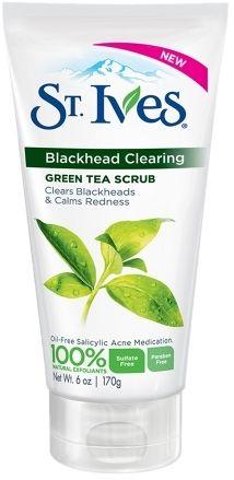 St. Ives Blackhead Clearing Scrub Green Tea
