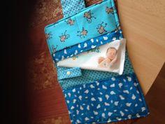 Windeltasche mit Schnullertäschen neu & handmade