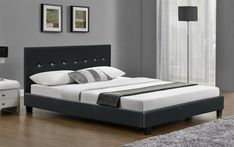 Super King Size Bed Frame Faux Leather Black or Brown and with Mattress New Super King Size Bed, King Size Bed Frame, Leather Bed, Price Comparison, Metal Beds, Foam Mattress, Double Beds, King Beds, Furniture