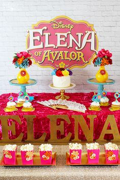 Elena of Avalor Party Ideas - Disney's First Latina Princess