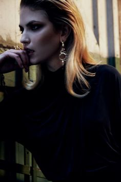 Ganni x Sophie Bille Brahe Earring & ring as see on Ganni 2015 F/W show