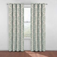 Eclipse Daria Blackout Curtain Panel  These might be the solution to our slider doors.