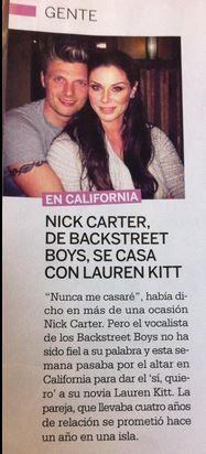 Radio-bsb: Scan: Nick & Lauren en Revista Lecturas