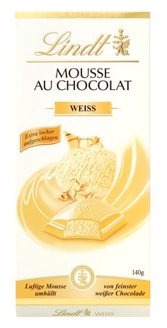 Mousse au Chocolat weiß