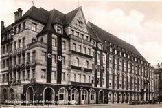 Deutscher Hof de Nüremberg. Ampliación y renovación (Alemania, 1935-37). Franz Ruff (Alemania, 1906-1979). // Originalmente construida según planos de Hans Müller (1912-13)