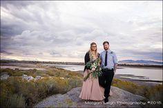 Utah weddings, wedding inspiration, wedding ideas, outdoor wedding, evening wedding.