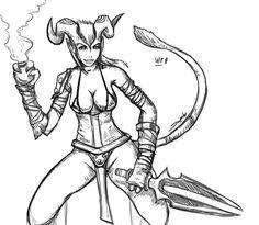 Riki Female by Jupiterjam.deviantart.com on @DeviantArt