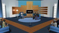نتيجة بحث الصور عن talk show stage design
