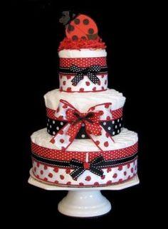 Diaper Cakes! Design Dazzle: Creative And Fun Baby Shower Ideas!