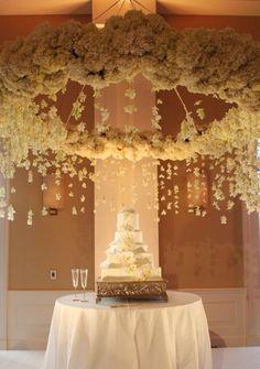 Floral Chandeliers « David Tutera Wedding Blog • It's a Bride's Life • Real Brides Blogging til I do!
