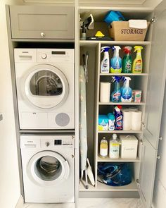 120 brilliant laundry room ideas for small spaces – practical & efficient -pag. 120 brilliant laundry room ideas for small spaces – practical & efficient -pag… Boot Room, Utility Room Storage, Room Design, Room Remodeling, Small Laundry Room Organization